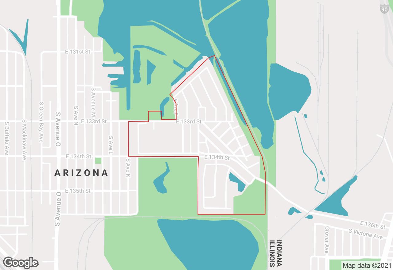 Harbour Point Estates map