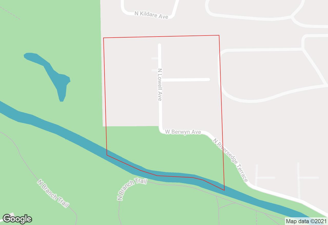 River's Edge map
