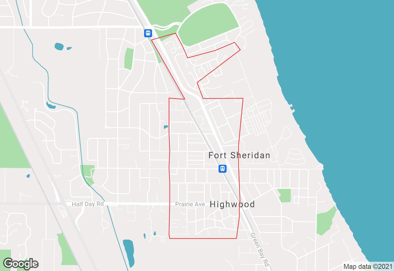 Highwood map