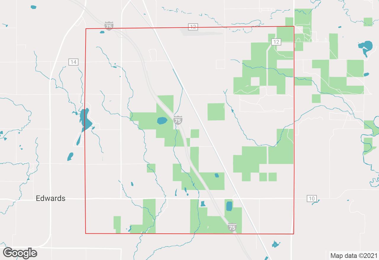 Horton map