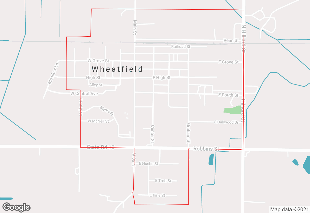Wheatfield map