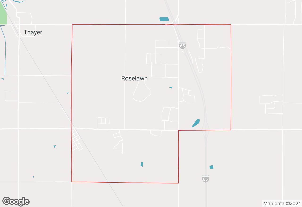 Roselawn map