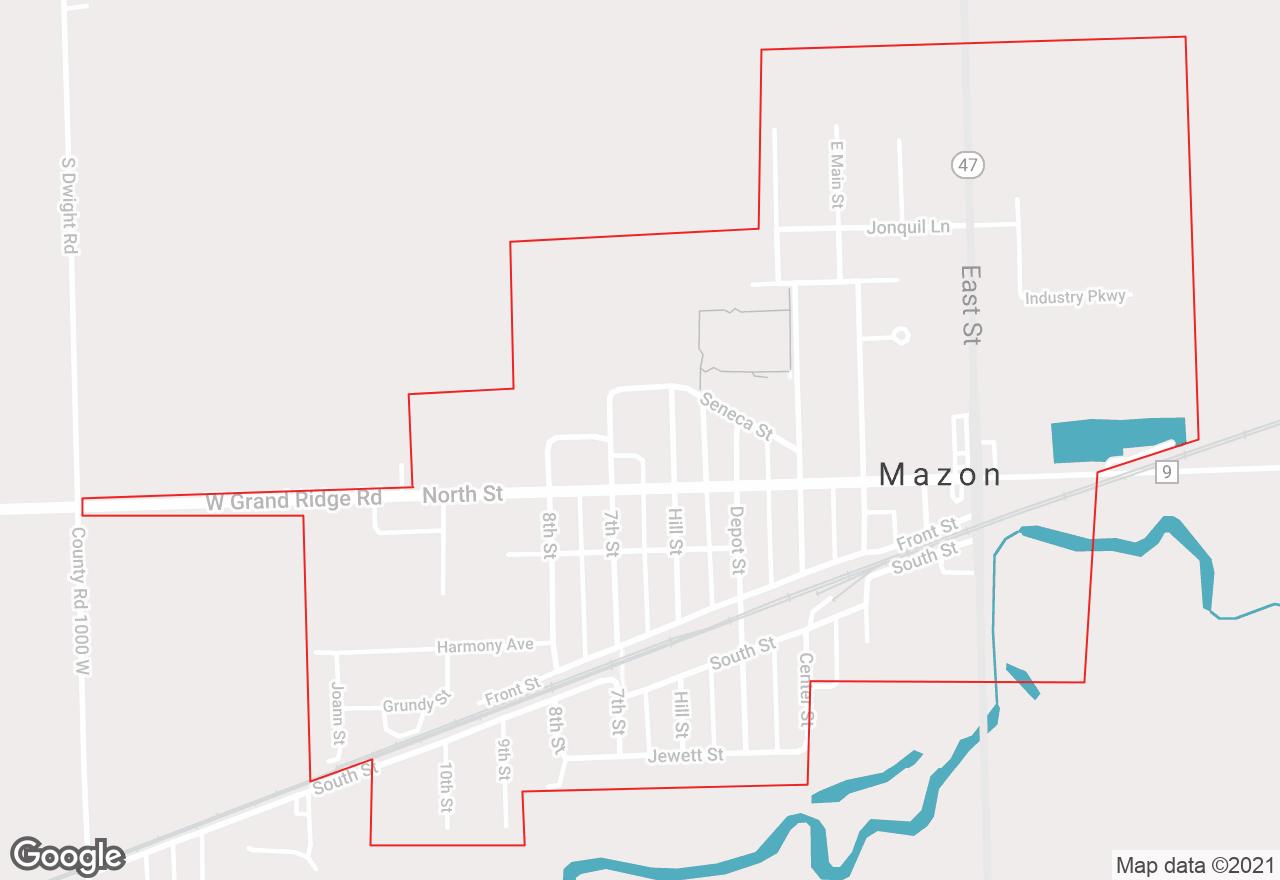 Mazon map