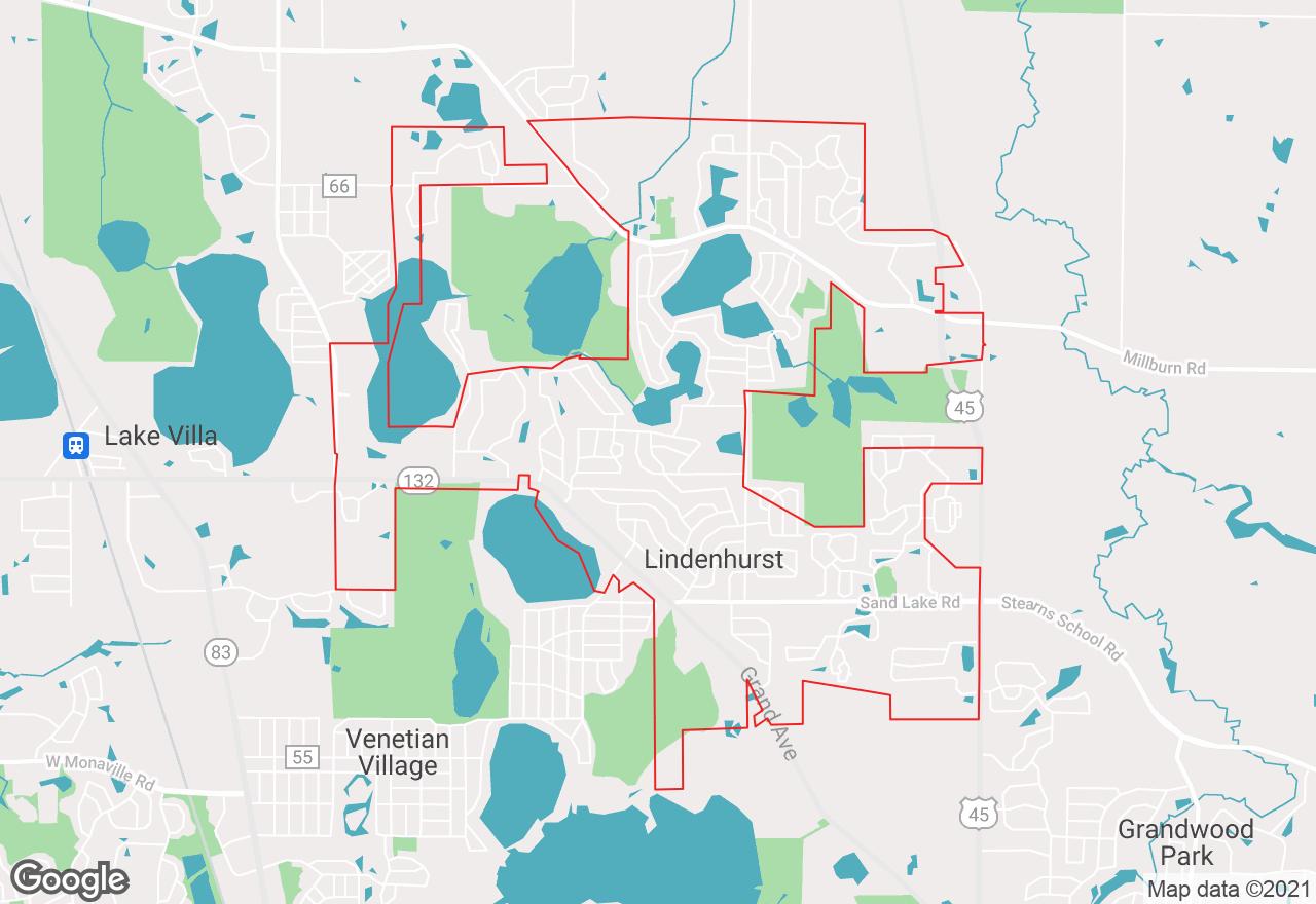 Lindenhurst map
