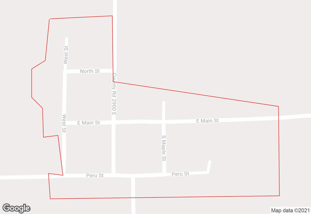 Hollowayville map