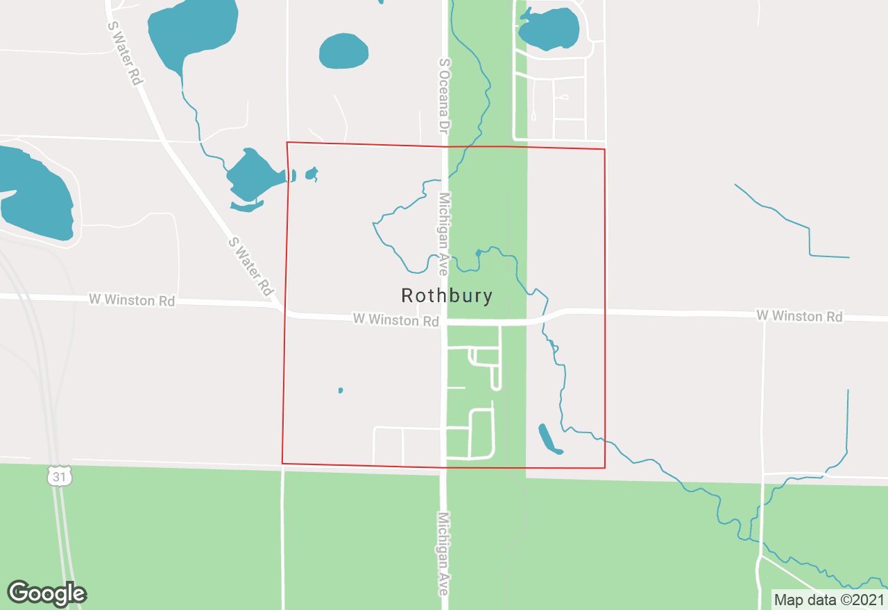 Rothbury map
