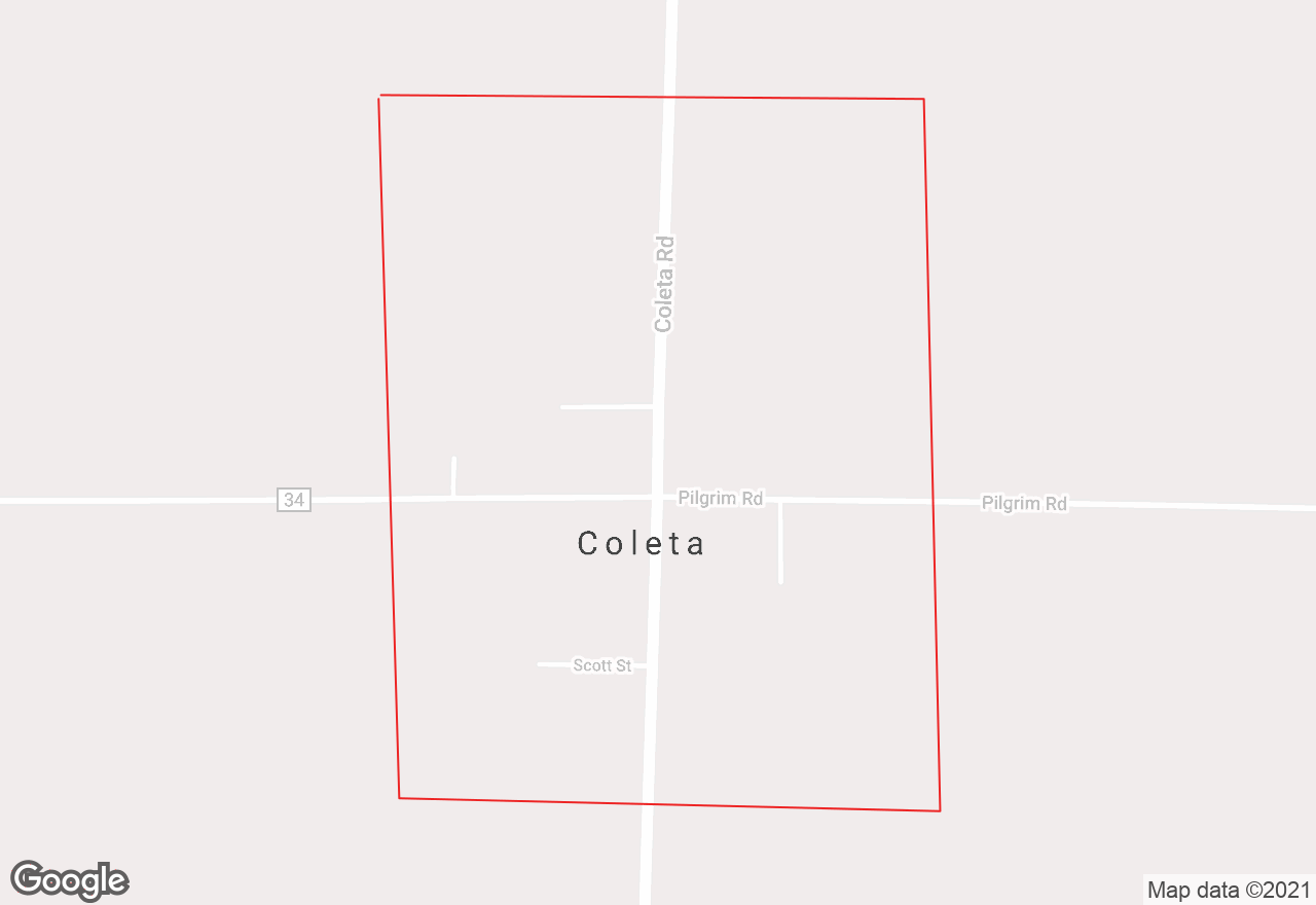 Coleta map