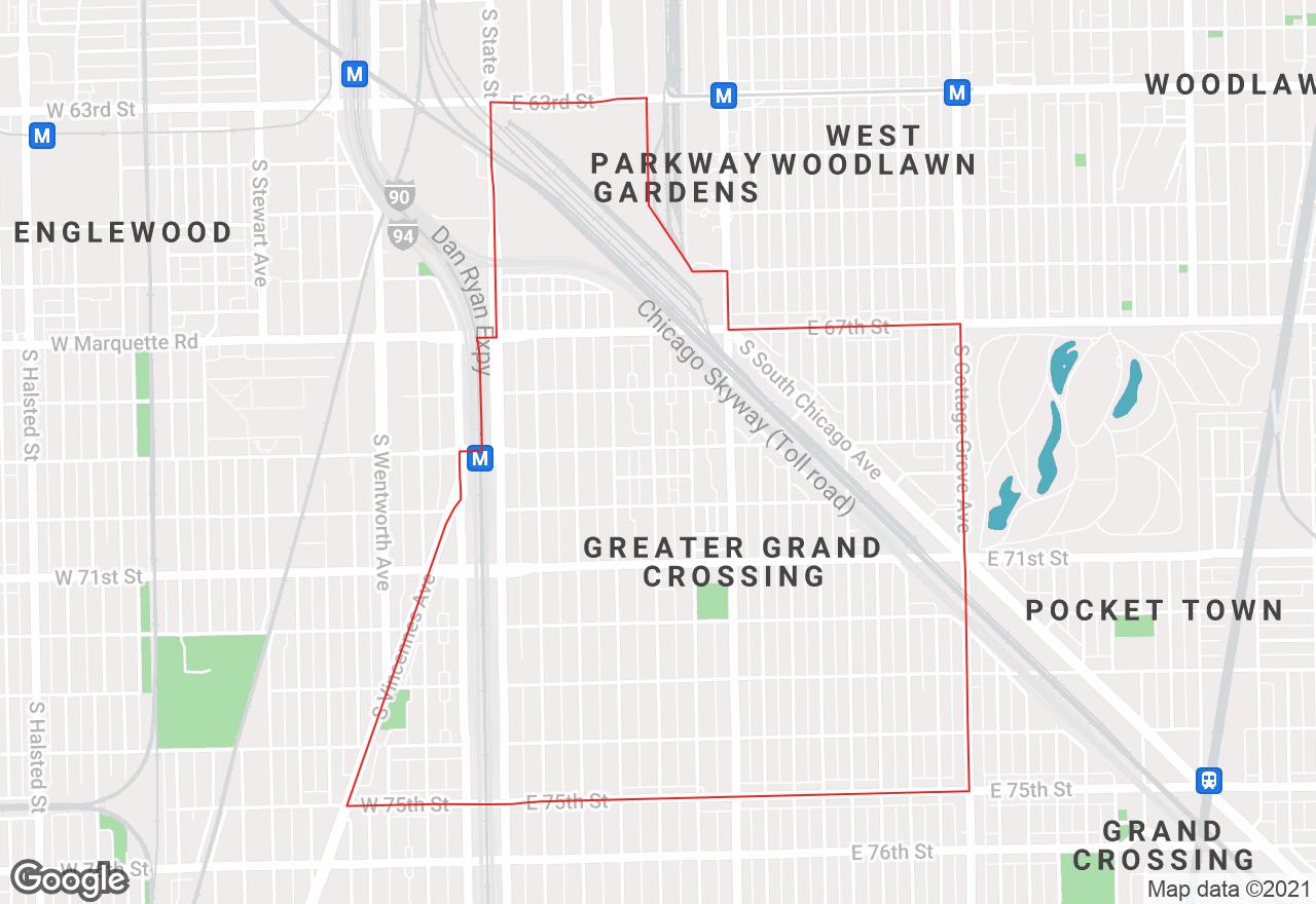 Park Manor map