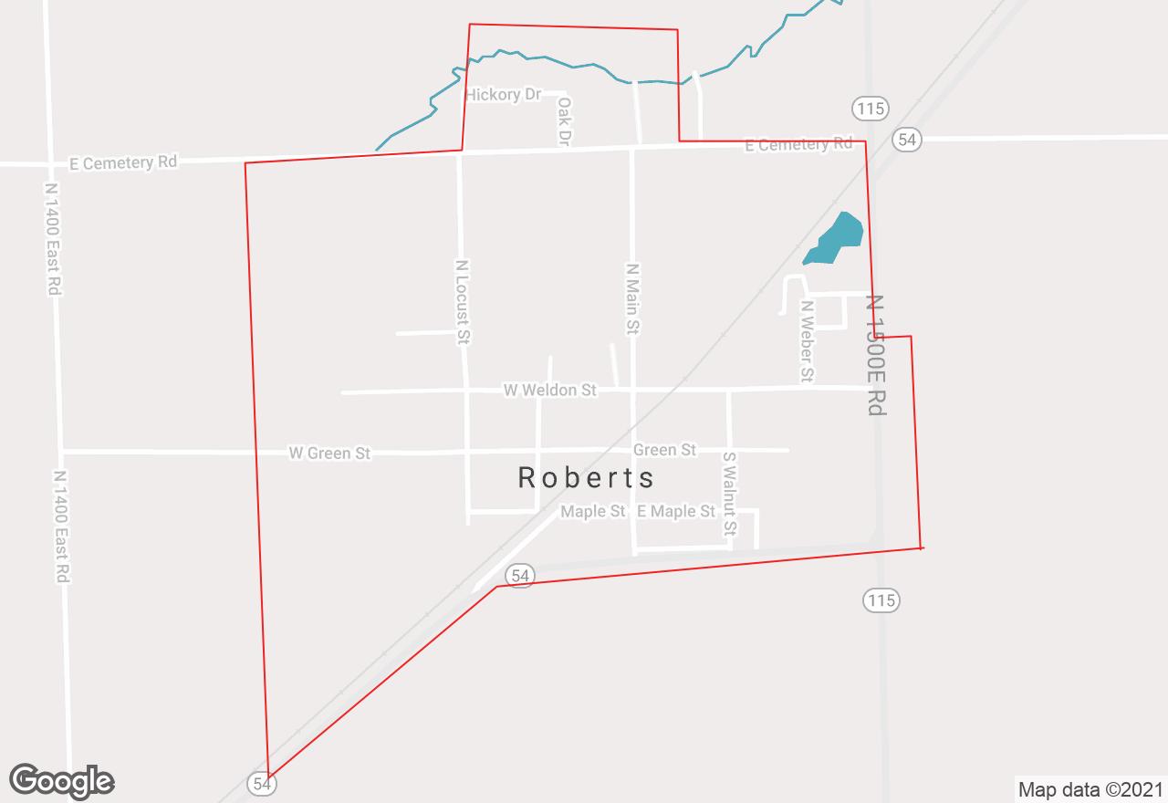Roberts map