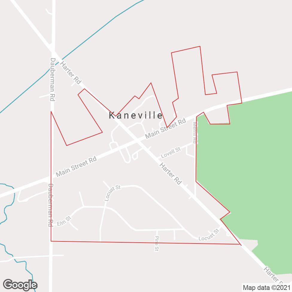 Kaneville map