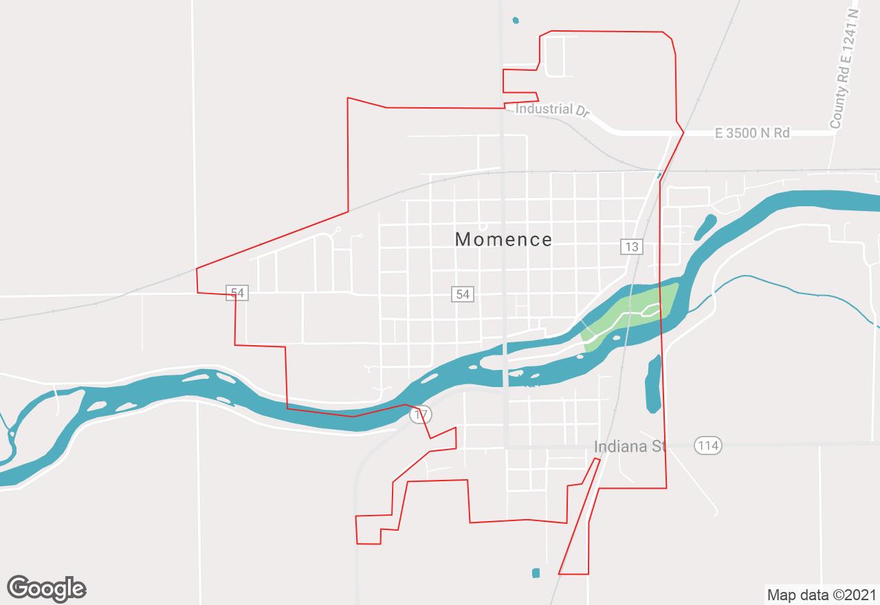 Momence map
