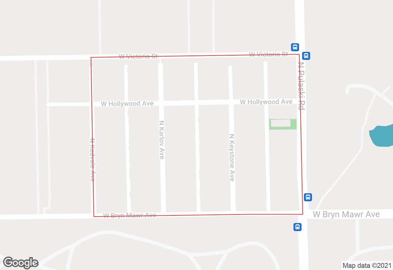 Brynford Park map