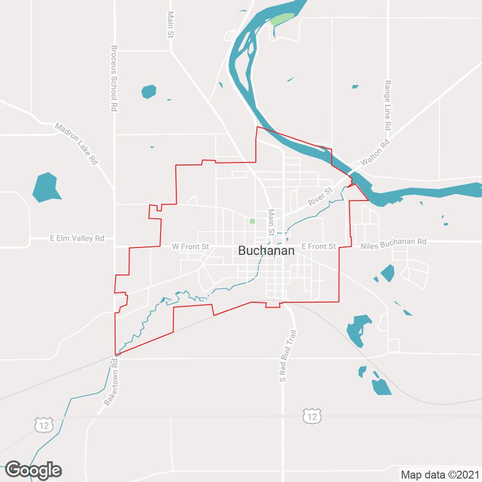 Buchanan map