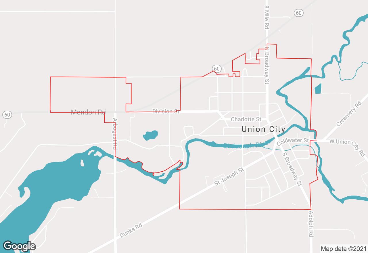 Union City map