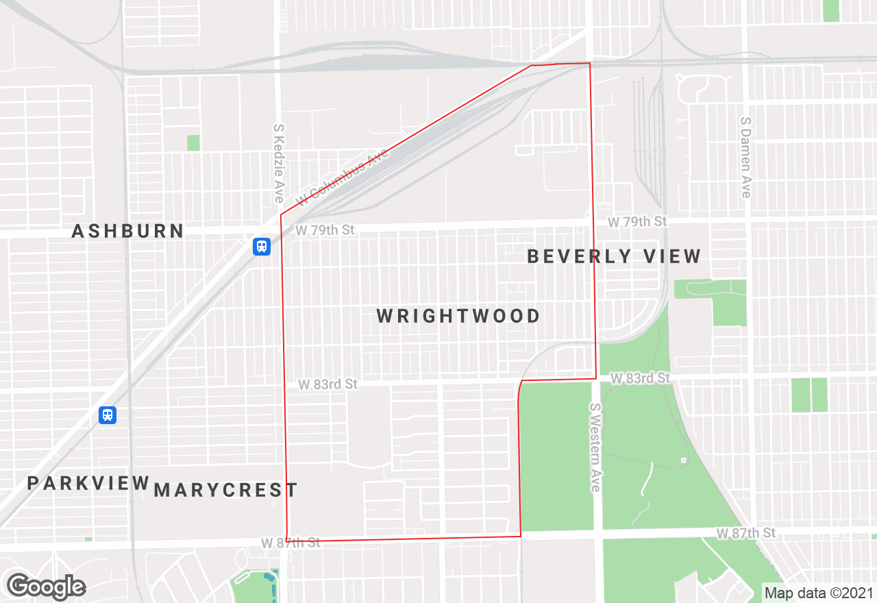 Wrightwood map