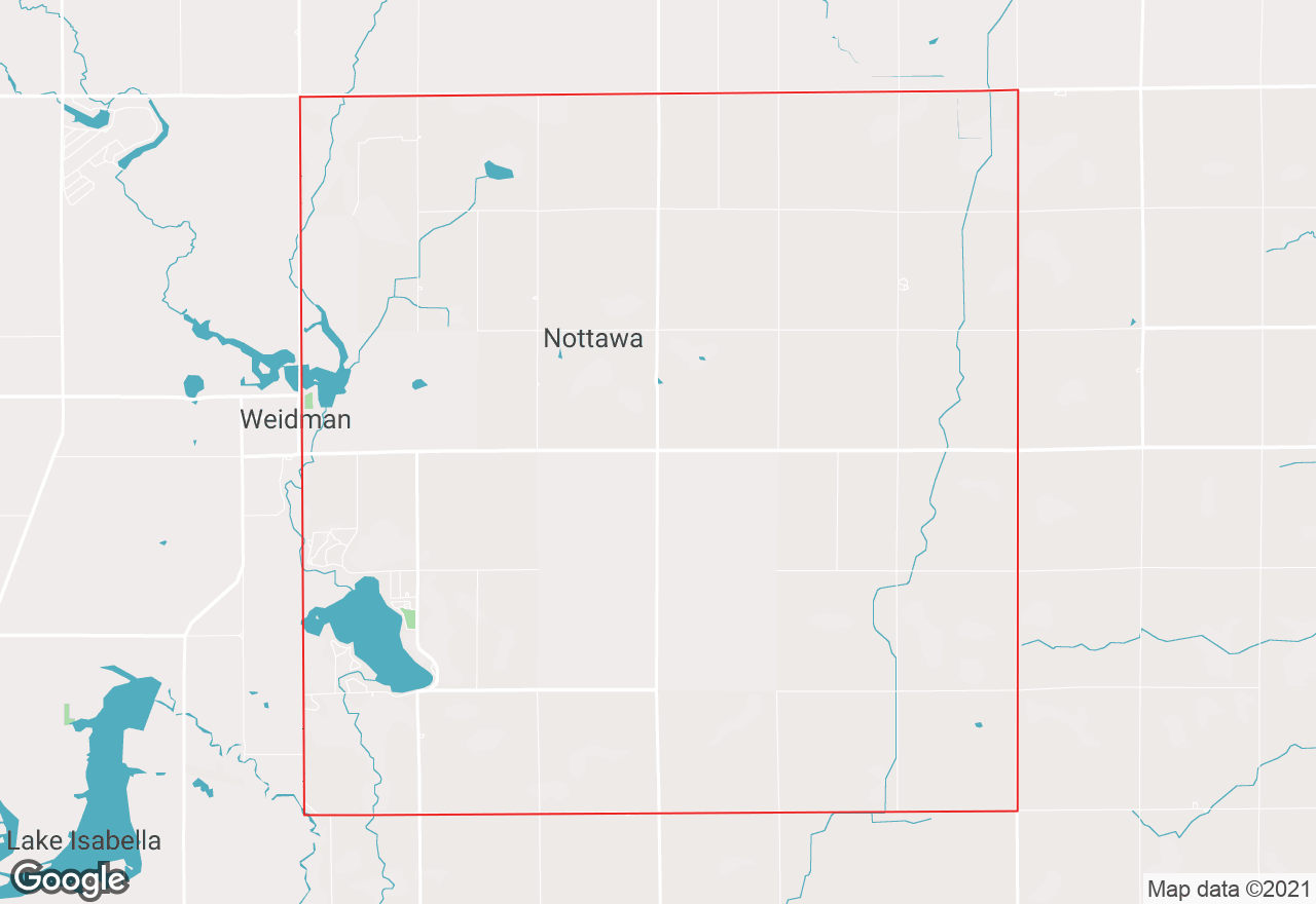 Nottawa map