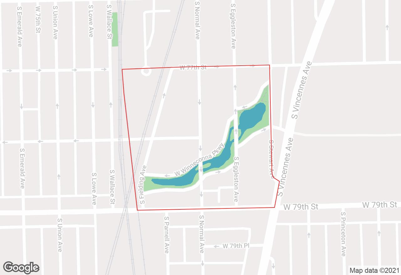 Winneconna Parkway map