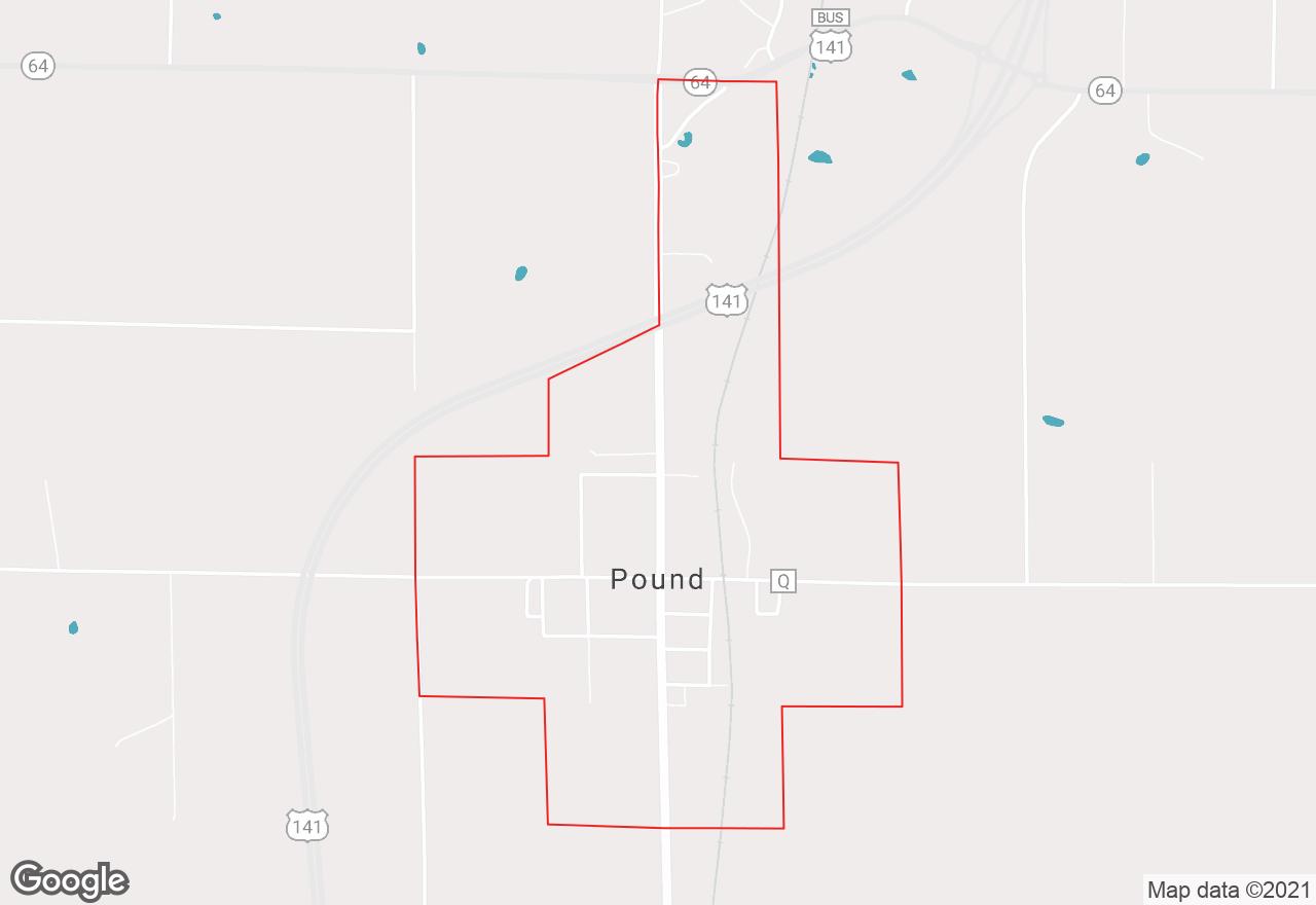 Pound map