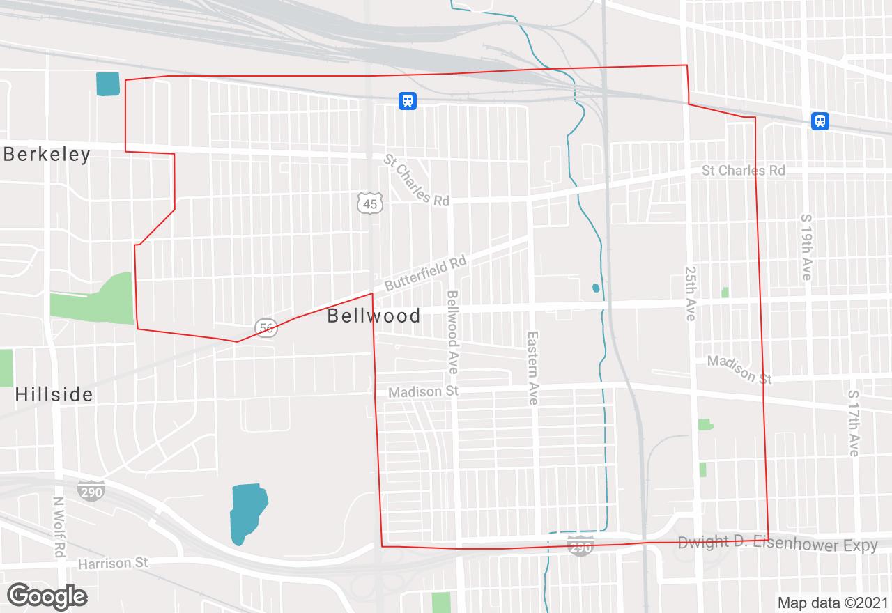 Bellwood map