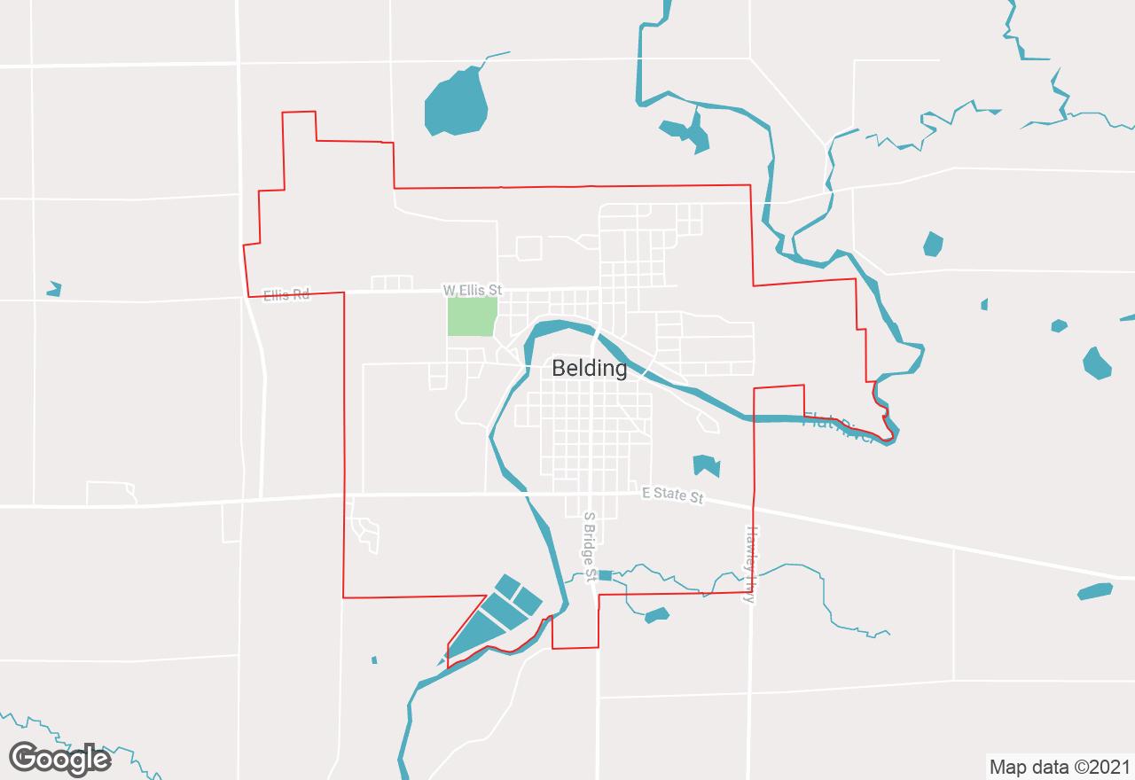 Belding map