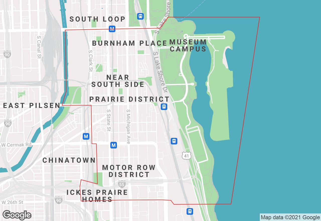 Near South Side map