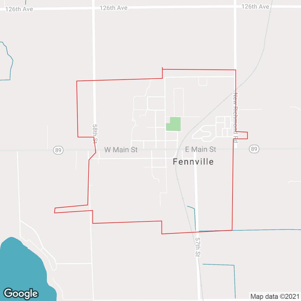 Fennville map