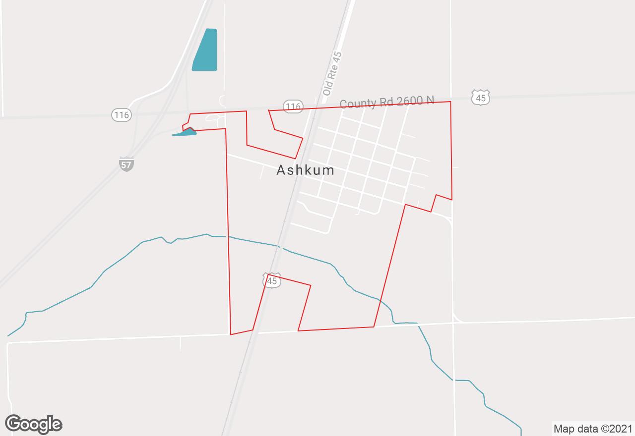 Ashkum map