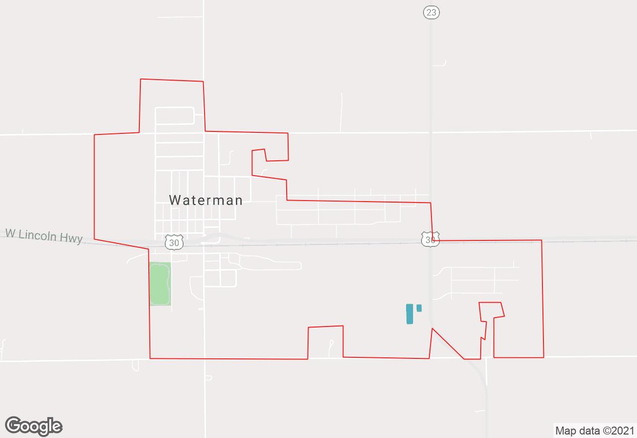 Waterman map
