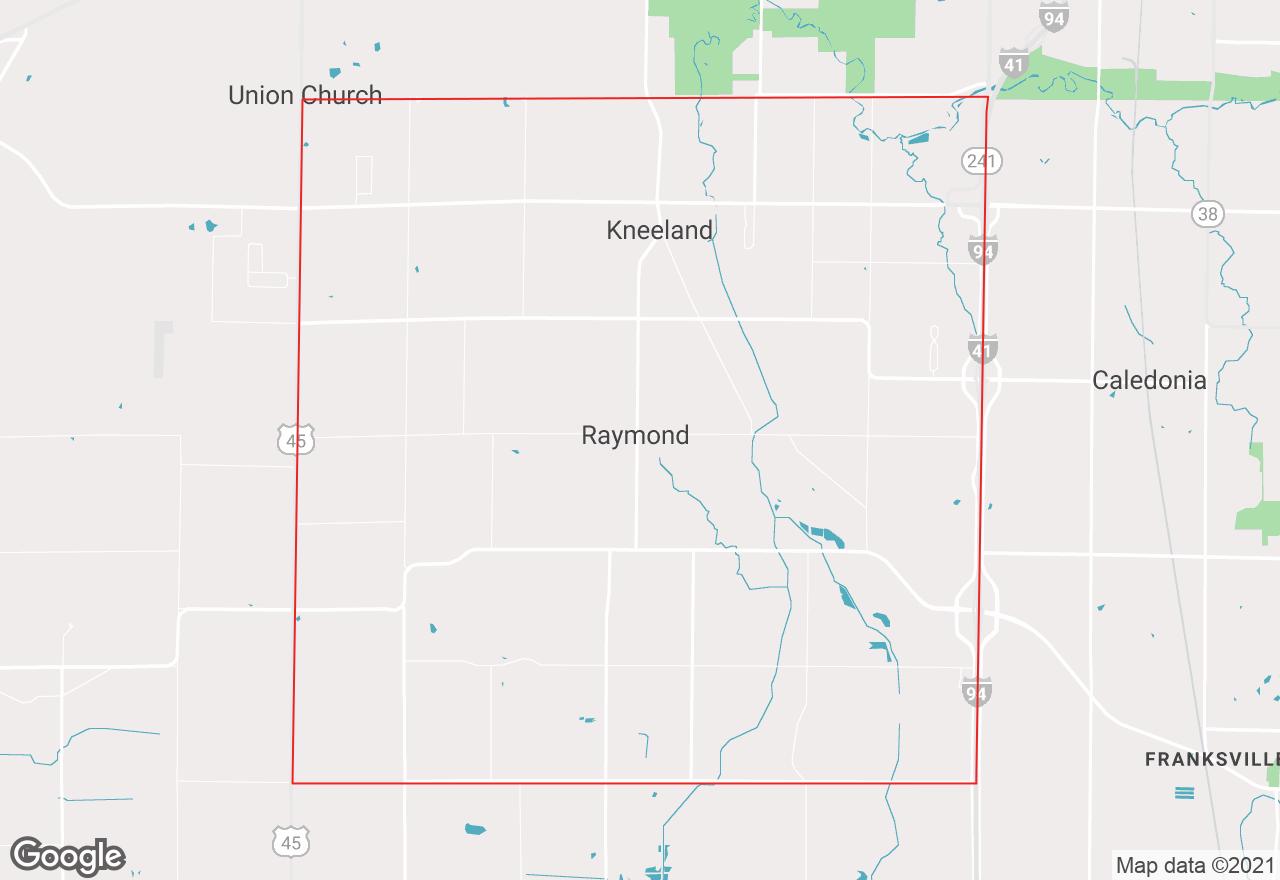 Raymond map