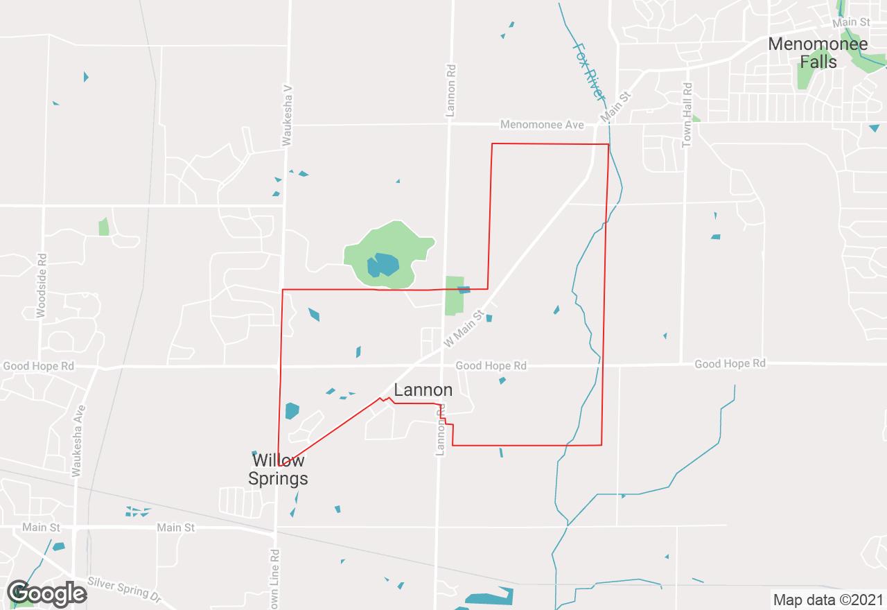 Lannon map