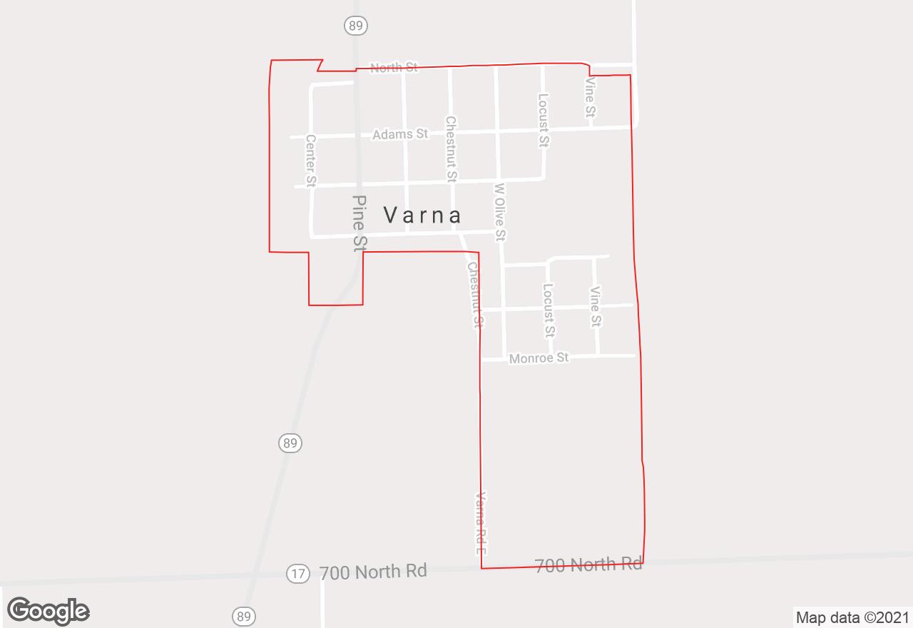 Varna map