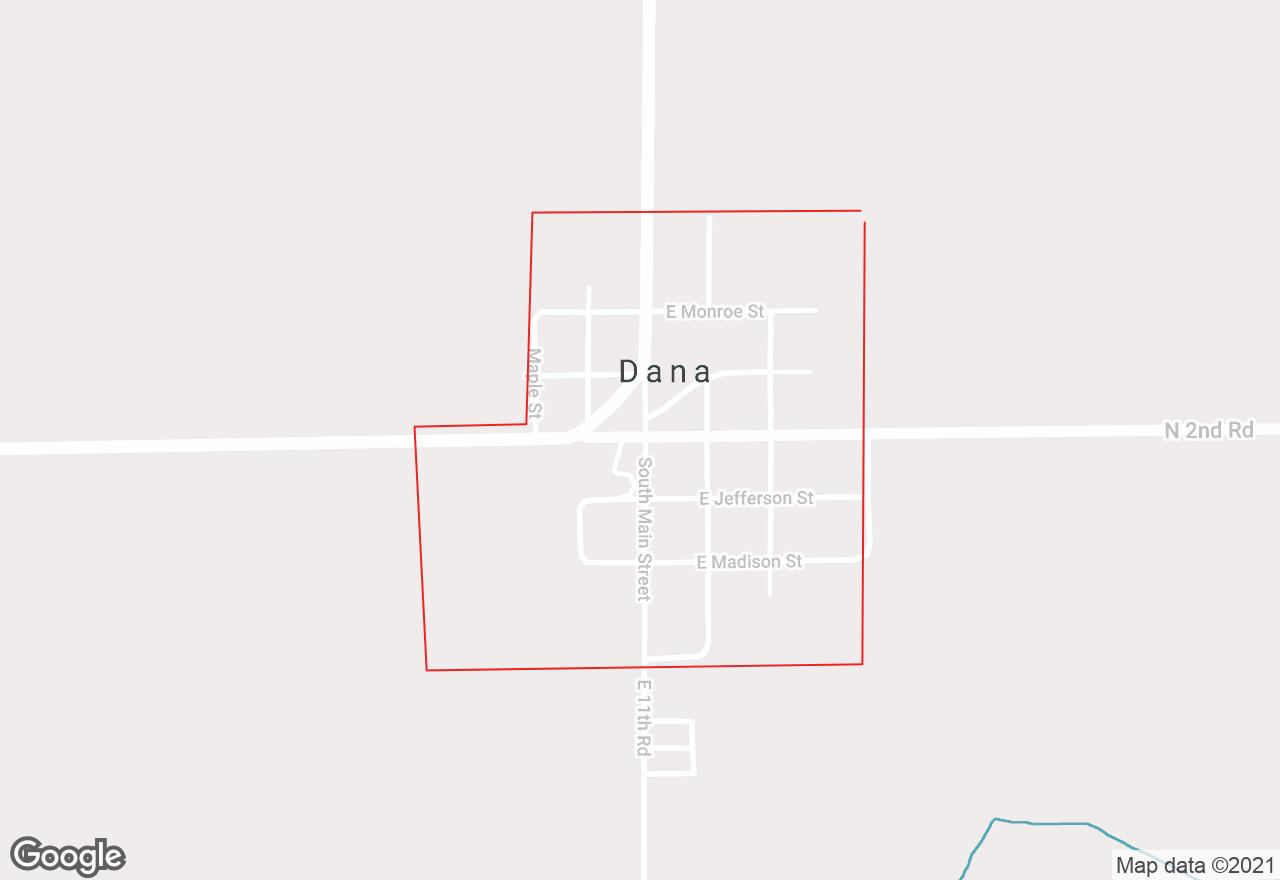 Dana map