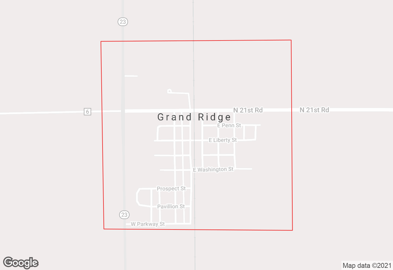 Grand Ridge map