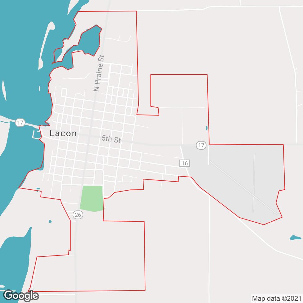 Lacon map