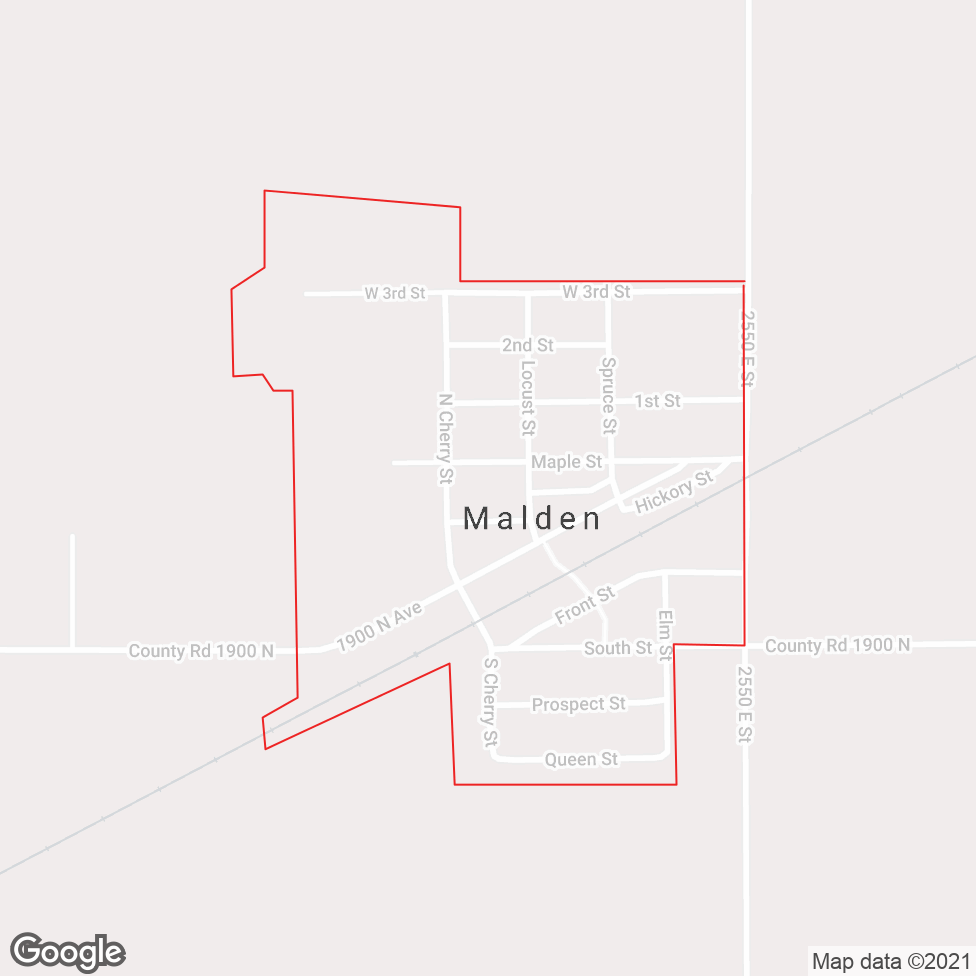 Malden map