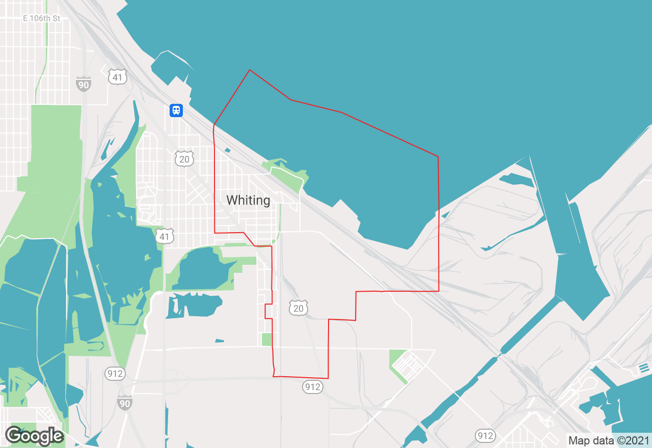 Whiting map