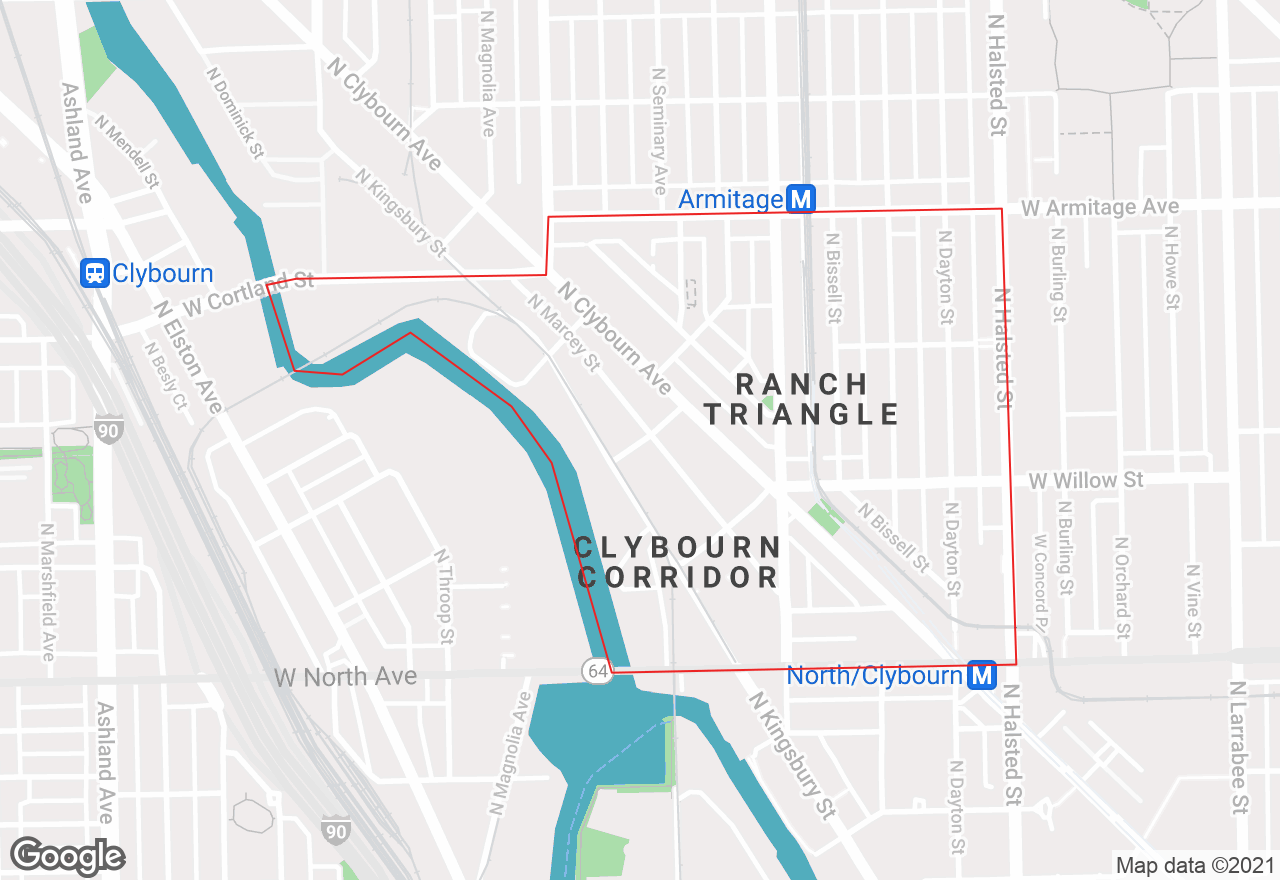 Ranch Triangle map