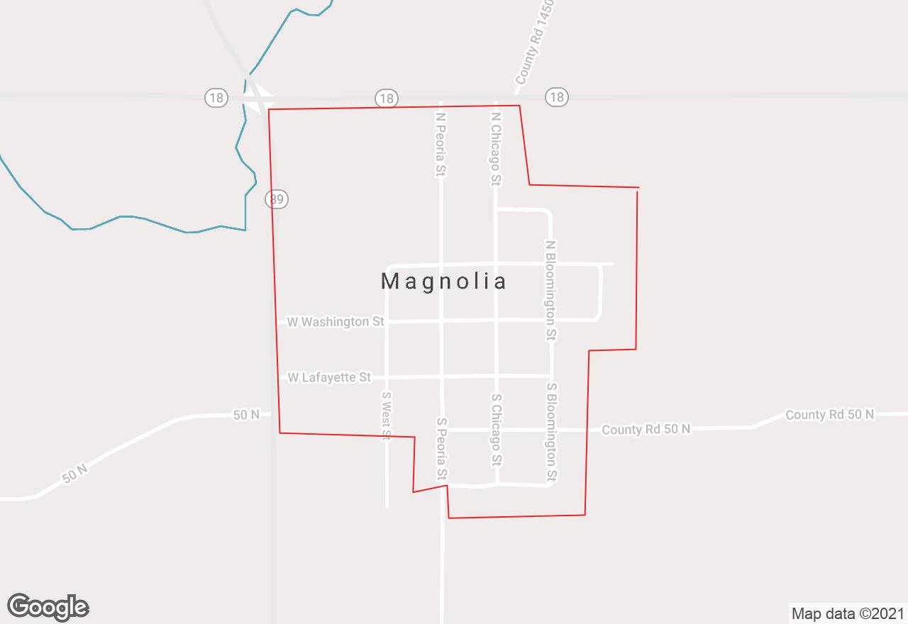Magnolia map